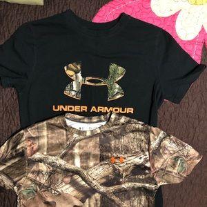 UA shirts